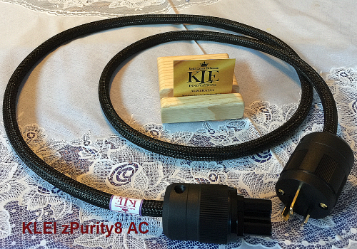 KLEI zPurity8 AC power cable by SU