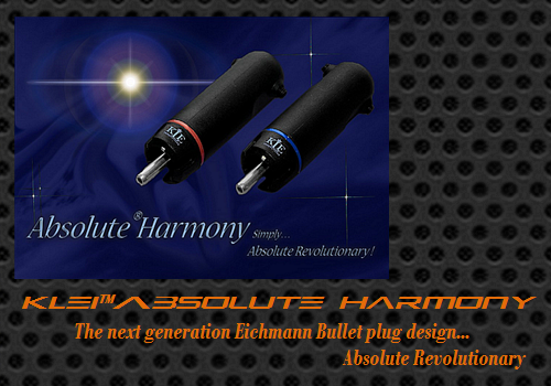 KLEI Absolute Harmony RCA plugs by Neville Roberts (Hi-Fi Choice/UK)