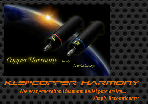 KLEI Copper Harmony RCA plugs (w/ SPDIF/Coax IC) by Willy Low (AV2DAY.com)