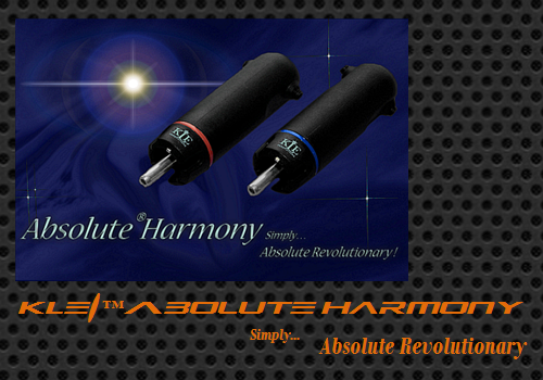 KLEI Absolute®Harmony Phono/RCA plugs by Steve Reeve (Fine Art)