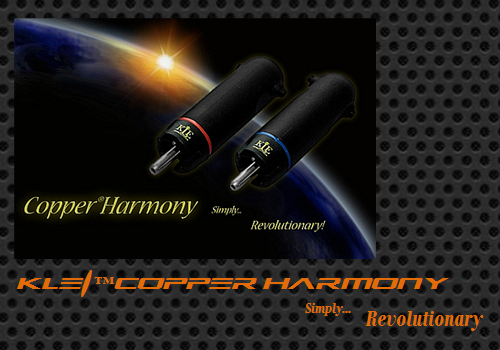 KLEI™Copper Harmony Phono/RCA