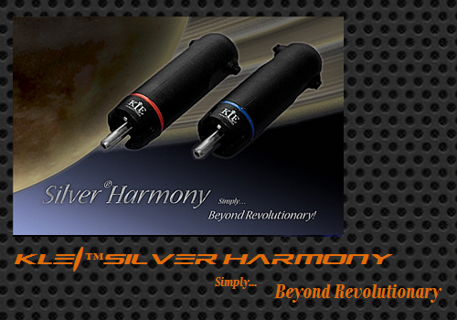 KLEI™Silver Harmony Phono/RCA