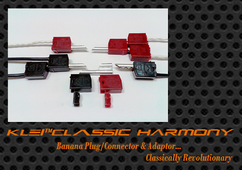KLEI™Classic Harmony Banana Connector/Adaptor