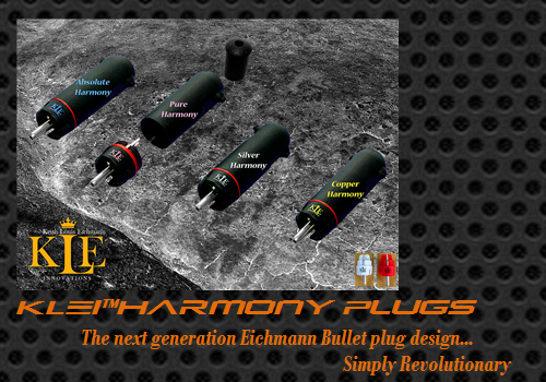 KLEI Harmony Plugs (The next generation Eichmann Bullet plug design)
