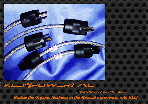KLEI gPower2 AC/IEC-AU power cable by John Ransley (Totally Wired)