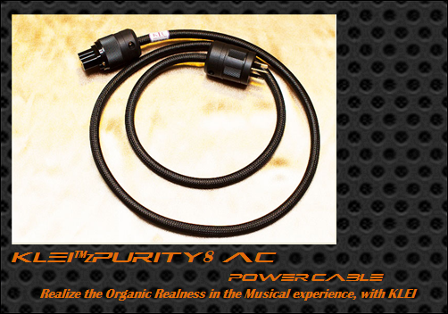 KLEI zPurity8 AC/IEC-AU power cable by John Ransley (Totally Wired)