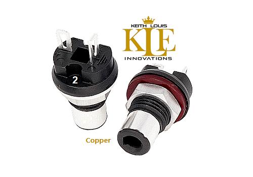 2/KLEI™Copper Harmony RCA Socket